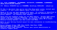 Blue Screen Windows - Fehler beheben